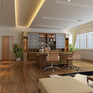 辦公室模型