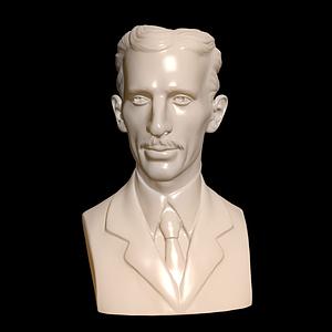 特斯拉雕像模型