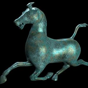 銅奔馬模型