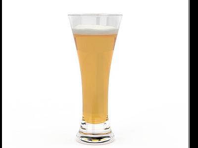 3d果汁飲品模型