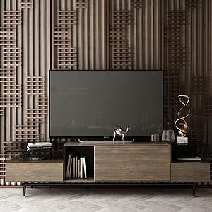 家具電視柜模型
