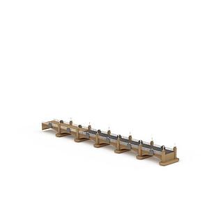 3d大橋模型