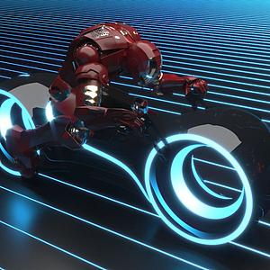 科技摩托車模型