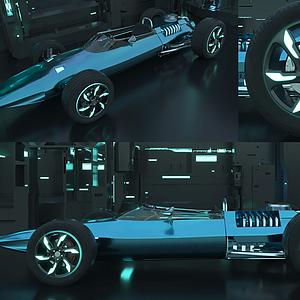 急速賽車模型