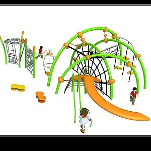 兒童攀爬體能訓練模型