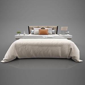 現代床模型