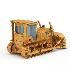 精裝高科技推土機模型