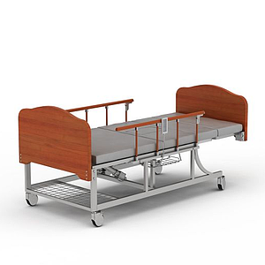 多功能醫護床模型
