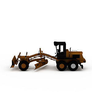 機械推土鏟車模型