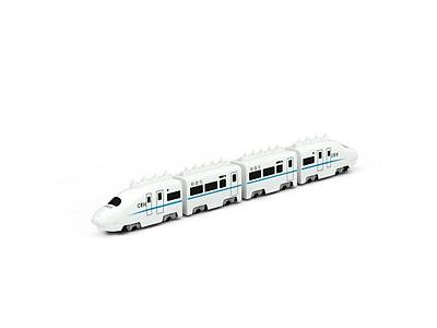 3d和諧號<font class='myIsRed'>火車</font>玩具免費模型