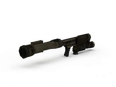 3d游戲火箭筒免費模型