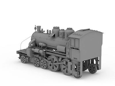 3d老式<font class='myIsRed'>火車</font>頭模型