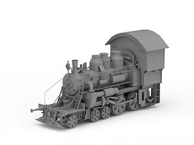 3d老式<font class='myIsRed'>火車</font>頭免費模型