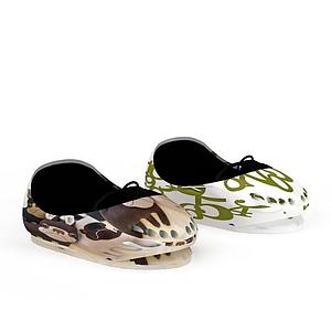 鞋子樣式汽車模型