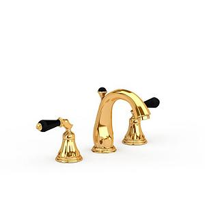 金色水龍頭模型