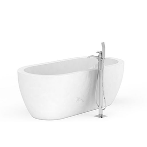 高檔浴缸模型