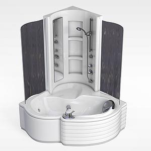 浴缸組合模型