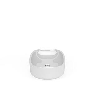 簡易橢圓浴缸模型