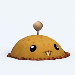 PotatoMine土豆地雷模型