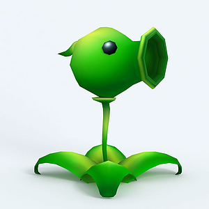 Peashooter豌豆射手模型
