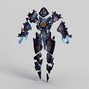 3d遠古巫靈·澤拉斯模型