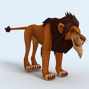 獅子王刀疤模型