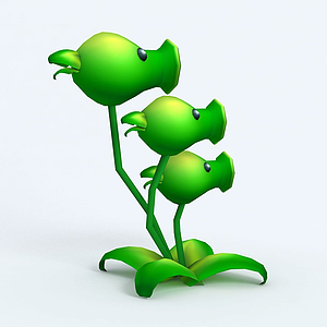 Threepeater三管豌豆模型