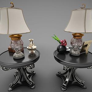 現代風格臺燈模型