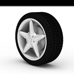 汽車輪胎模型