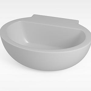 圓形浴缸模型