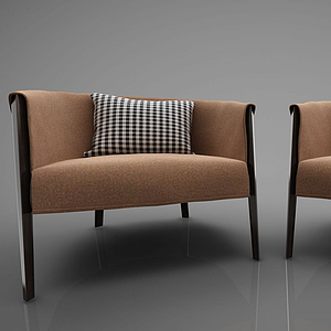 現代風格休閑沙發模型