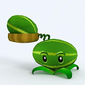 Melon-pult西瓜投擲機模型