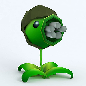 GatlingPea機槍豌豆模型