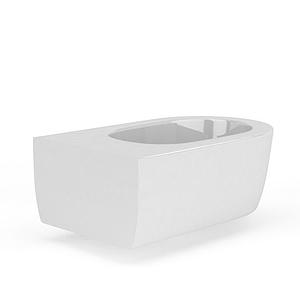歐式馬桶模型
