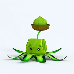 Cabbage-pult卷心菜模型
