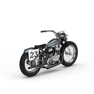 炫酷摩托車模型