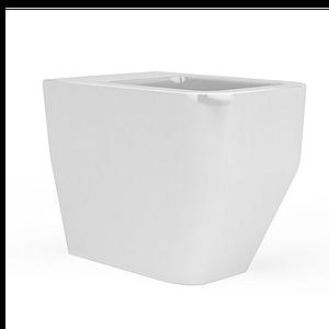 方形馬桶模型