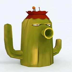 Cactus仙人掌模型