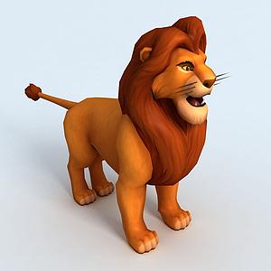 獅子王木法沙模型
