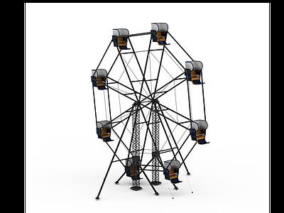 摩天輪模型
