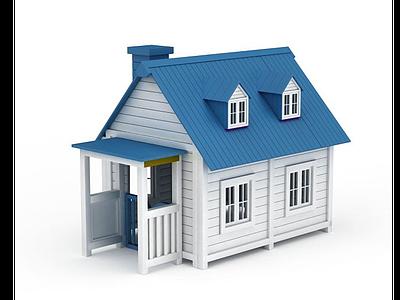 3d戶外小木屋免費模型