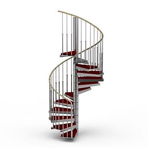 復式樓梯模型