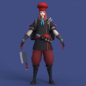 王牌小丑Joker喬克模型