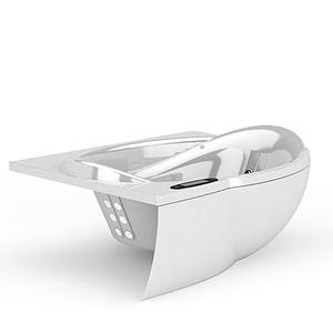足浴盆模型