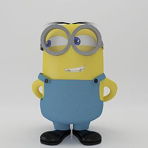 小黃人模型