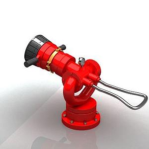 消防水炮模型