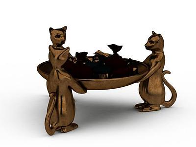 創意糖果盤模型