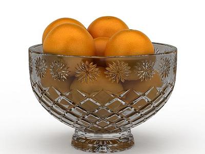 3d橙子模型