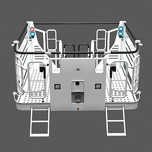 消防升降平臺模型