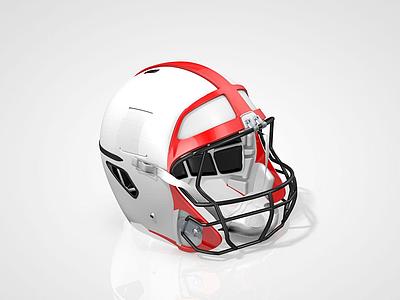 橄欖球頭盔模型